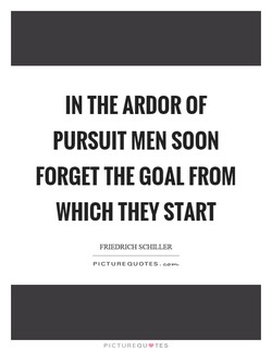 IN THE ARDOR OF 