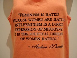 'FEMINISM IS HATED 