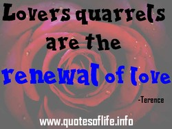 Lovers quarrels 