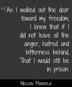 As I walked out the door 