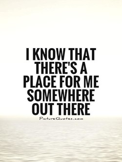 I KNOW THAT 