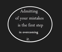 Admitting 