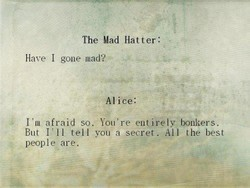 The Mad Hatter: 