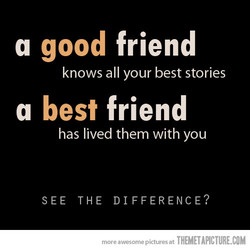 a good friend 