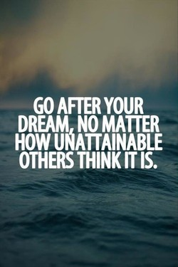 GO AFTER YOUR 