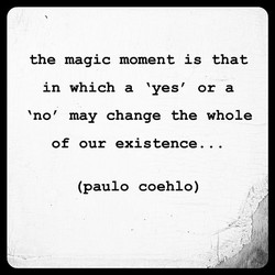 the magic moment is that 