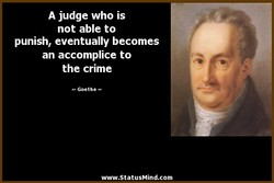 A judge who is 