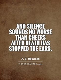 AND SILENCE 