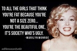 TO ALL THE GIRLS THAT THINK 