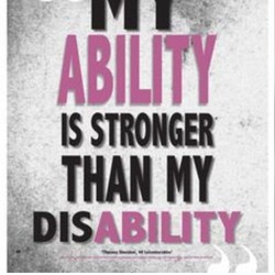 IS STRONGER THAN DISABILITY
