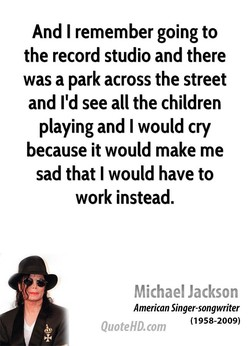 And I remember going to 