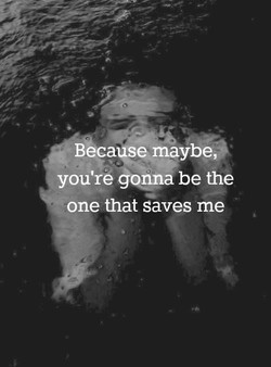 Becal\se maybe 