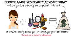 BECOME AMOTIVES BEAUTY ADVISOR TODAY 