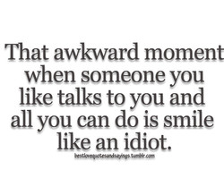 That awkward momeni 