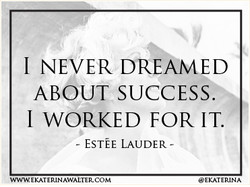 1 NEVER DREAMED 
