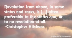 Revolution from above, in some 