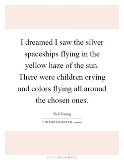 I dreamed I saw the silver 