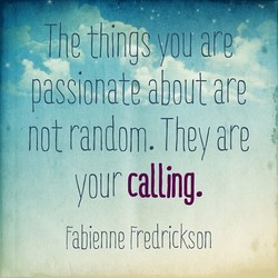 passionate about are 