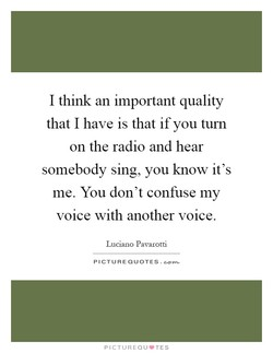 I think an important quality 