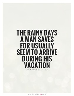 THE RAINY DAYS 
