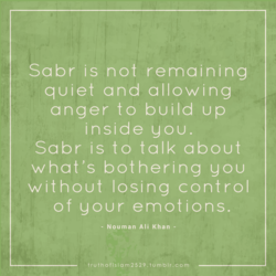 Sabr is not remaining 