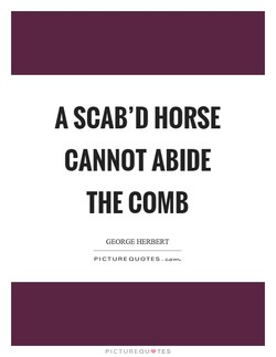 A SCAB'D HORSE 
