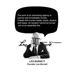 The work Of an advertising agency is 