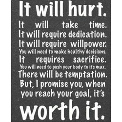 It will hurt. 