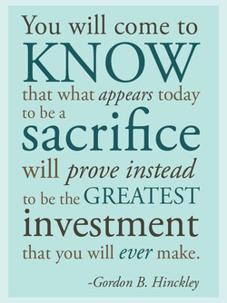 You will come to 