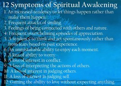 12 Symptomy o Spiritual Awakening 