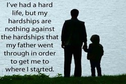 I've had a hard 
