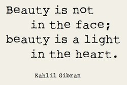 Beauty is not 