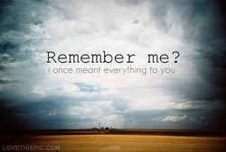 Remember me? 