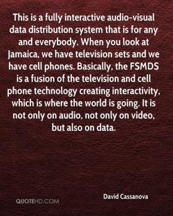 This is a fully interactive audio-visual 
