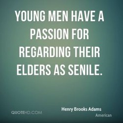 YOUNG MEN HAVE A 