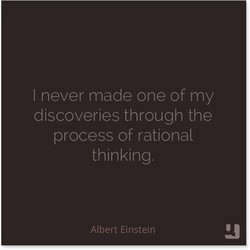 I never made one of my 