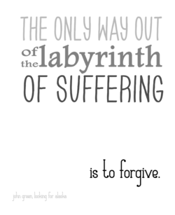 THE ONLY OUT 