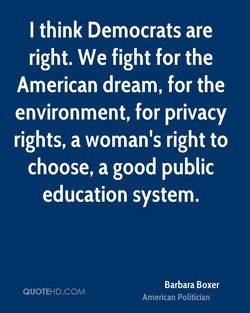 I think Democrats are 