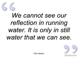 We cannot see our 