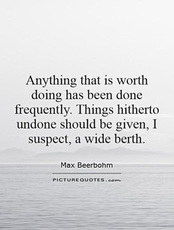 Anything that is worth 