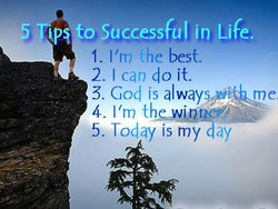 5 to Successful in Life. 