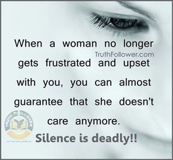 When a woman no longer 