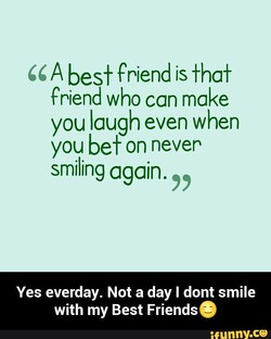 A best friend is fhaf 