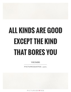 ALL KINDS ARE GOOD 