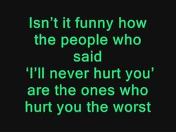 Isn't it funny how 