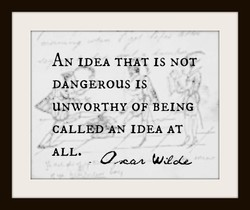 AN IDEA THAT IS NOT 