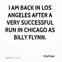 I AM BACK IN LOS 