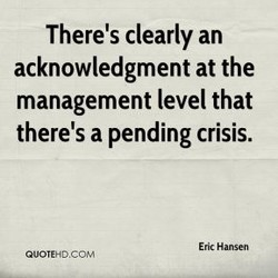 There's clearly an 