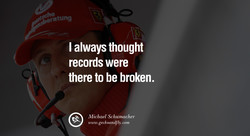 I always thought 