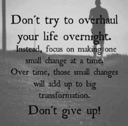 Don't try to o r 